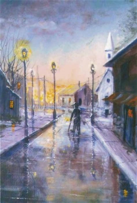 acrylic painting with jerry yarnell pbs artist jerry yarnell reflective stroll