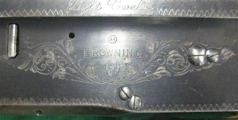 browning light twelve gold trigger belgium browning light twelve 12 ga a5 semi auto shotgun