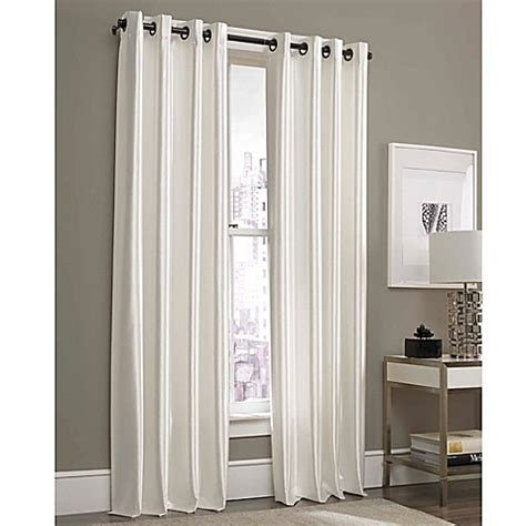 63 inch curtains bed bath beyond buy gardnera 63 inch grommet top window curtain panel in