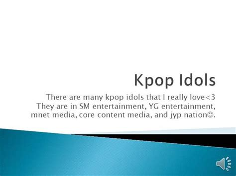 kpop powerpoint themes kpop authorstream