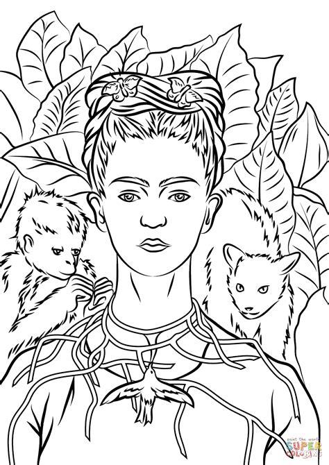 libro frida kahlo colouring books desenhos de frida kahlo para imprimir criando com apego