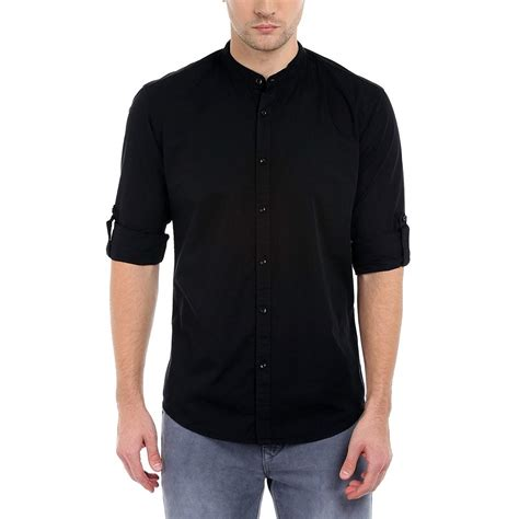 Lacoste Casual Pria Black may 2016 artee shirt