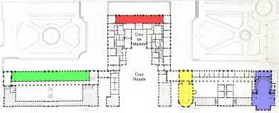 palace of versailles floor plan file plans du rez de chauss 233 e et du premier 233 tage du