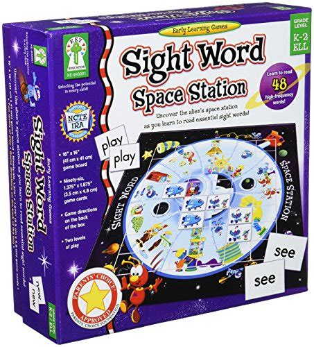 Sight Word Space Station Board awardpedia sight word space station