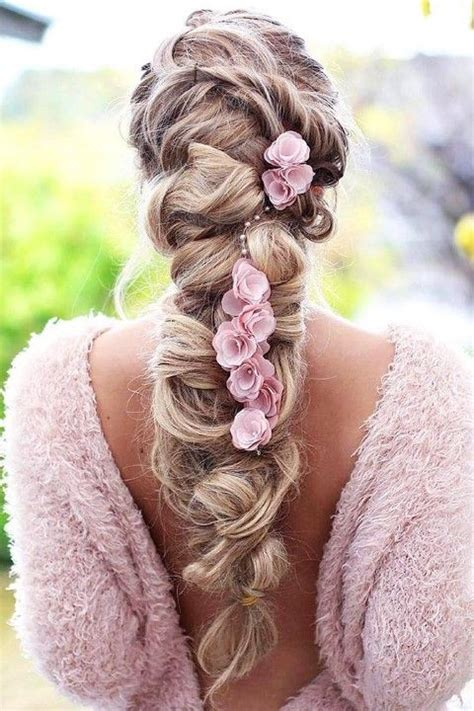 hochzeitsfrisur boho boho inspired creative and unique wedding hairstyles