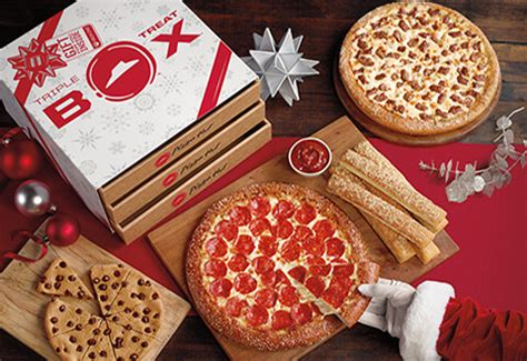 Pizza Hut Xbox Sweepstakes - pizza hut s holiday triple treat box hourly xbox one s instant win game sweepstakes