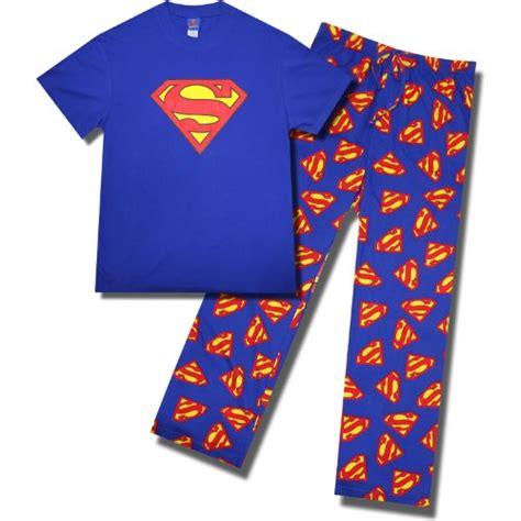 White Superman Big Size Shortpants Pajamas mens superman onesies footed pajamas sleepwear