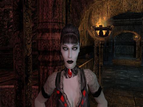 wallpaper vire girl world of goth malkavian makeup addon vire the