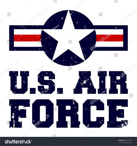Tshirt Us Airforce 4 tshirt print design us air stock vector 662178079