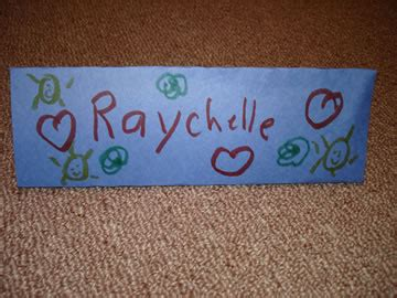 How To Make A Paper Name Tag - school cheer