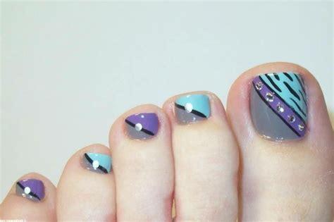easy nail art toes toe nail art nails10