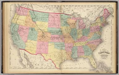 Map Of The United States Zoomable | map of the united states and territories walling h f