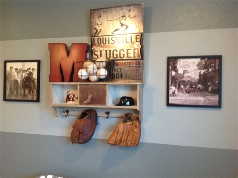 baseball home decor https etsy listing 230871103