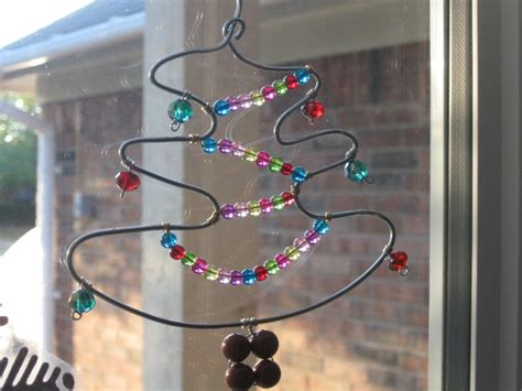 christmas tree wire hanger reuse and upcycle pinterest