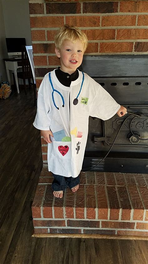 diy kids veterinarian costume  career day  school