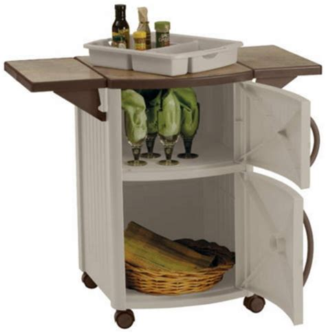 Serving Station Patio Cabinet by New Rolling Outdoor Serving Station Cabinet Bbq Patio