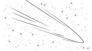 dibujo de cometa haley para colorear dibujos para