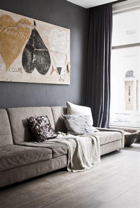 wohnzimmer farbideen farbideen f 252 rs wohnzimmer w 228 nde grau streichen