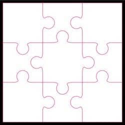 9 piece jigsaw puzzle clipart best