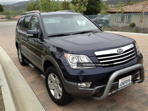 Kia Borrego V8 2009 Kia Borrego Ex V8 2wd Runs And Looks Great Seats 7