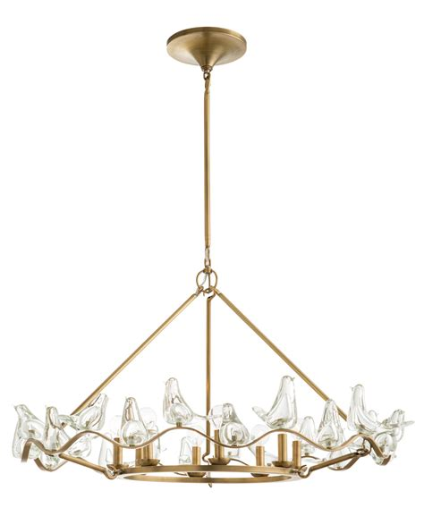 arteriors home dk89951 dove chandelier capitol lighting