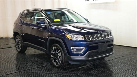 New Jeep 2018 Compass by New 2018 Jeep Compass Limited Sport Utility In Braintree