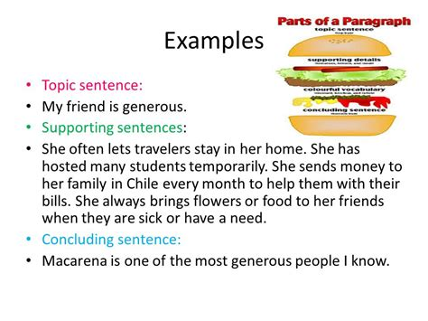 Exles Of Topic Sentences For Essays by Essay Topic Sentence Supporting Details