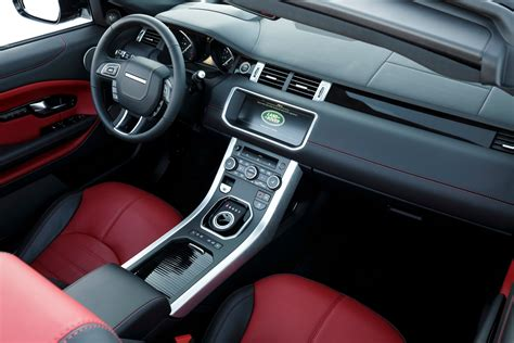 evoque land rover interior 2017 land rover range rover evoque reviews and rating