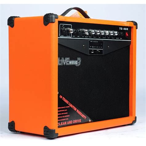 Live Tg 60r Electric Guitar Lifier Reverberation 3 Port 60w live tg 40r electric guitar lifier reverberation 3 port 40w with player remote