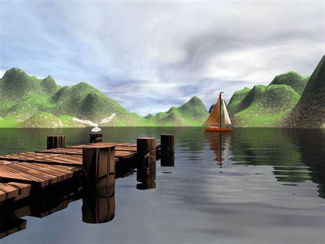 lake scenes wallpaper wallpapersafari