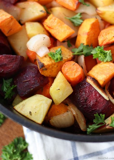 roasting root vegetables in oven oven roasted root vegetables bren did