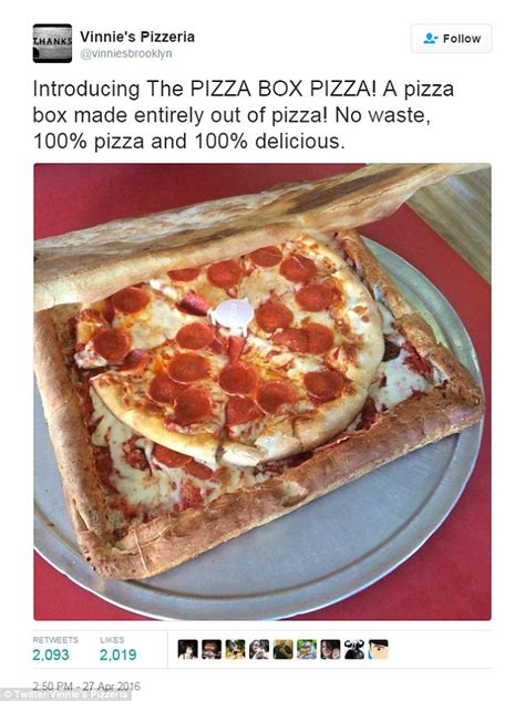 How To Make A Pizza Box Out Of Paper - pizzeria serves up delicious pie inside a box