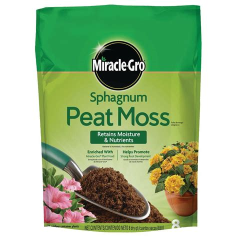 Mikasa Home Decor Miracle Gro Sphagnum Peat Moss 85278430 The Home Depot