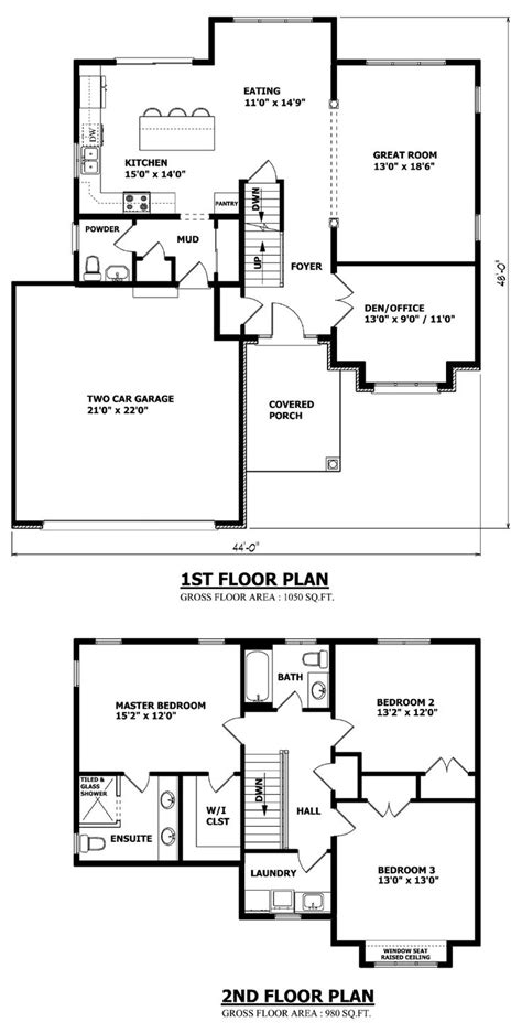 two story house plan house plan two story small striking storey plans decor