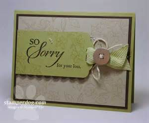 tips for sympathy cards stin up demonstrator m clemmer ster card ideas