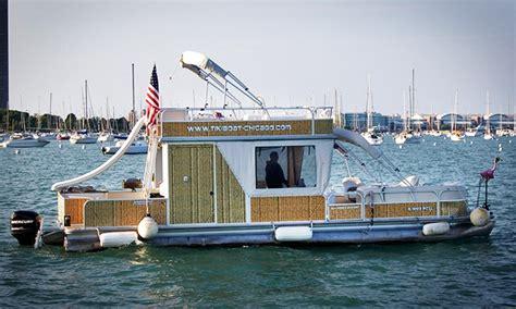 groupon chicago party boat tikiboat rental tikiboat chicago groupon