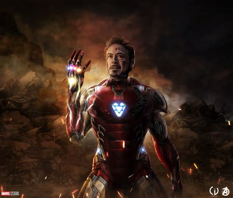 iron man avengers endgame hd superheroes