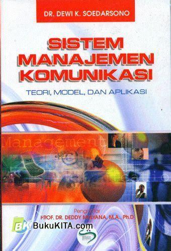 Buku Manajemen Laba Teori Dan Model Empiris By Sri Sulistyanto bukukita sistem manajemen komunikasi teori model dan aplikasi