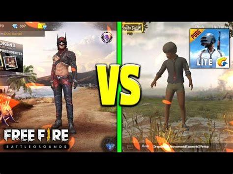 fire  pubg mobile litequal  melhor youtube