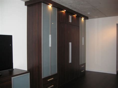 murphy bed in closet murphy bed and cabinetry modern closet toronto by