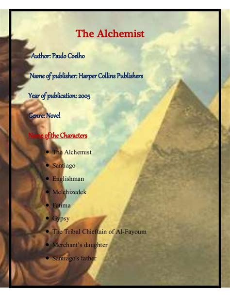the books the alchemist book review