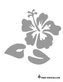 Printable Stencils Free Printable Wall Stencils Of Flowers