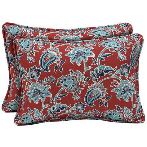 oversized toss pillows arden selections 22 x 15 caspian oversized lumbar outdoor