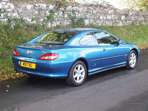 peugeot 406 coupe v6 used 2000 peugeot 406 coupe v6 auto for sale in antrim