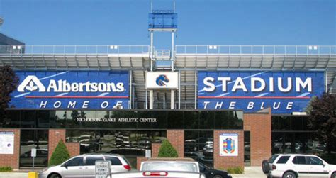 albertsons paying 12 5 million to rename boise state