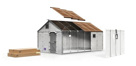 prefab home with ikea decor nextbigfuture com ikea s flat pack furniture design aids in building refugee
