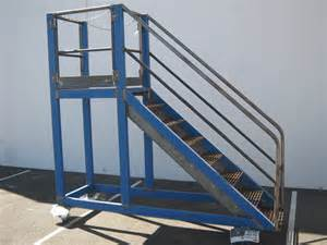 Platform Stairs by Painted Steel Stair Access Platforms Perth Western