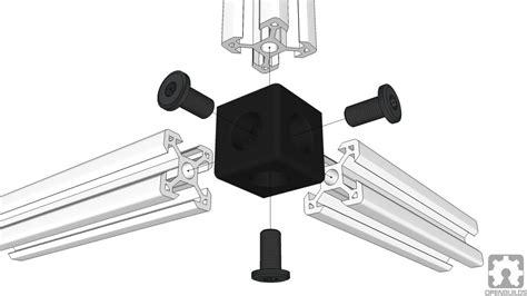 cube corner connector  slot