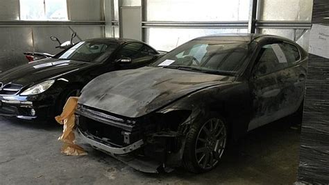 used car frauds luxury cars used in staged crashes to scam insurance