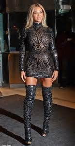 Beyonce Tom Ford Beyonce Rocks Tom Ford Minidress And Paid Tribute To Z